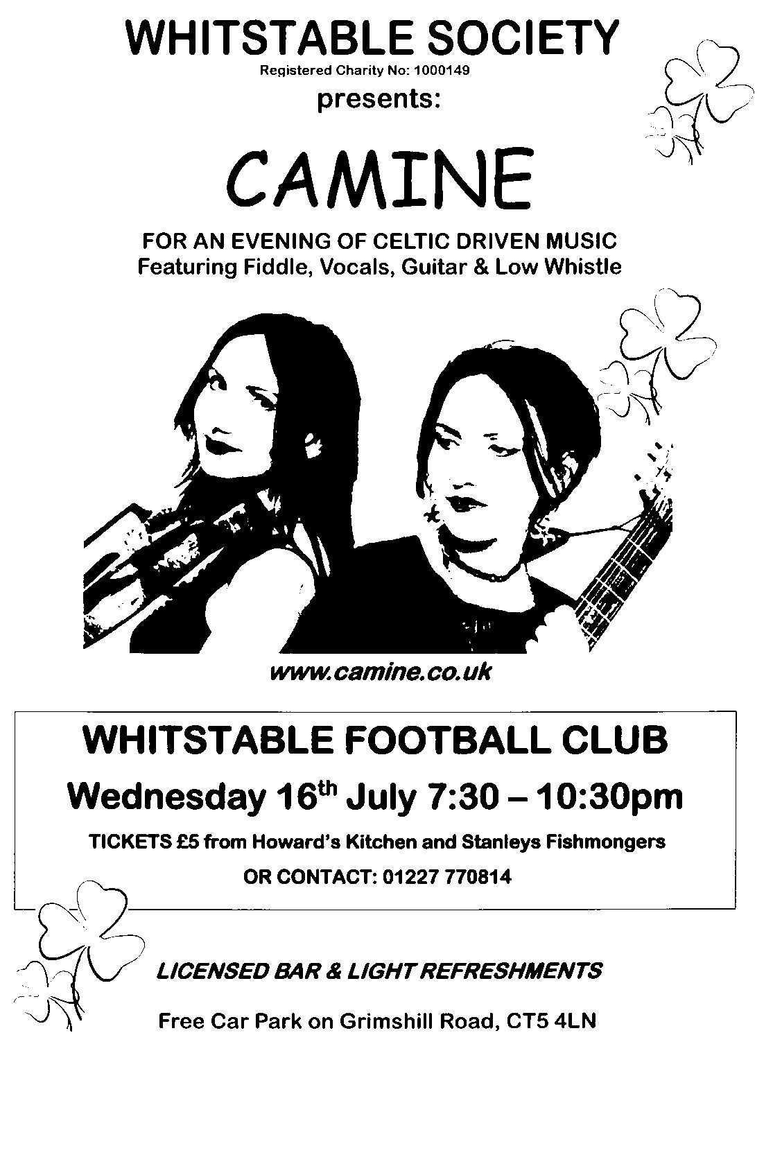 Whitstable Society Summer Concert
